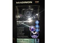 New - Unused action Camcorder-AC 500 Touch with HD video resolution