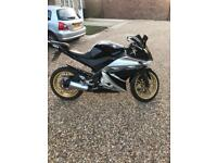 Yzf r 125 with 12 months mot