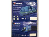Berghaus Air 8 Tent with Air Porch