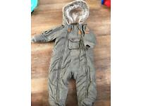 Parker style snow suit marks&spencer