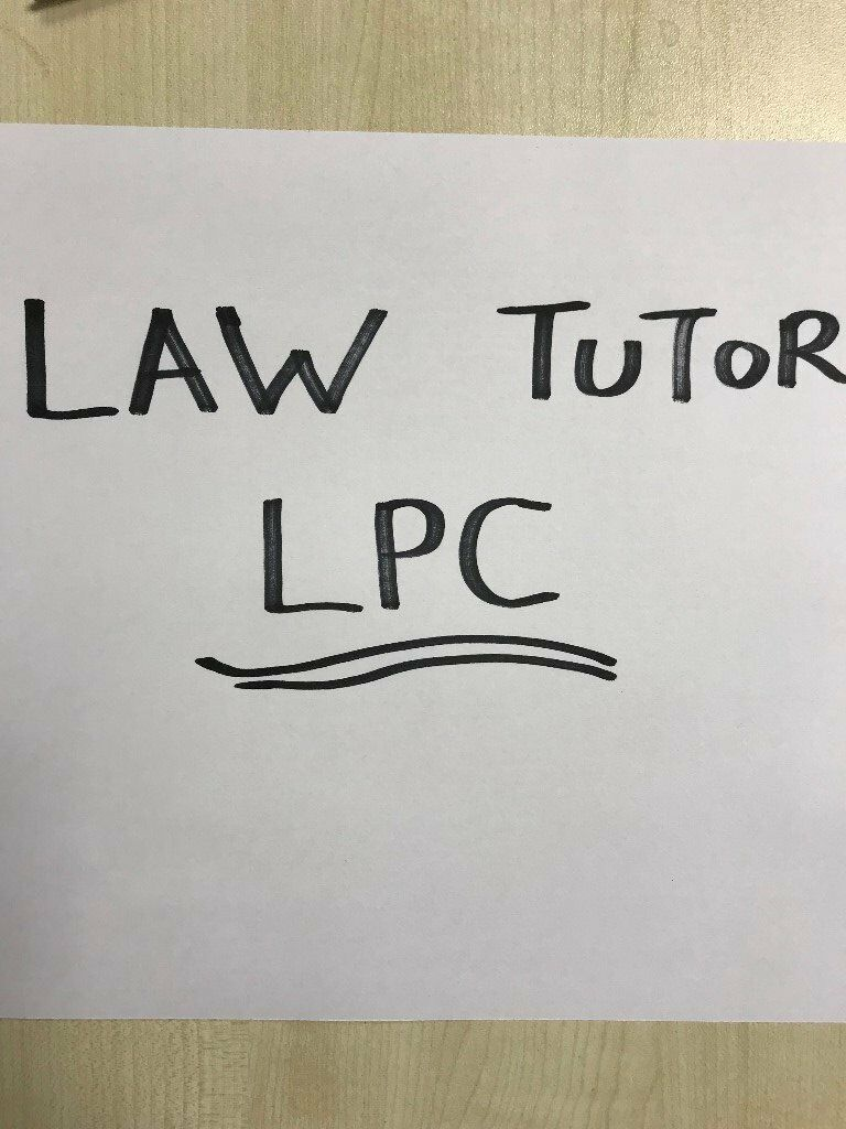 LPC Tutoring - Need help with exams ? 1st sitting ? 2nd