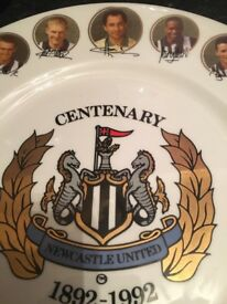 NEWCASTLE UNITED LTD EDITION CENTENARY PLATE