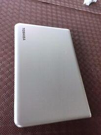 Slimline; large screen Toshiba Laptop