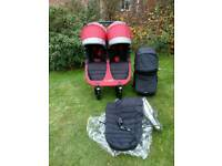 Baby jogger city mini gt double twin can post