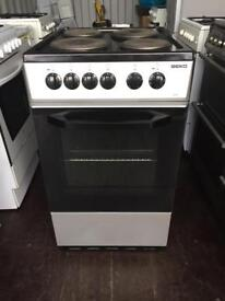 beko 50cm electric cooker excellent condition