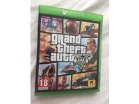 Grand Theft Auto 5 Xbox one.