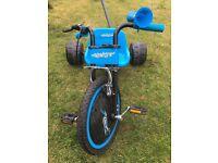 Blue Elektra hog bike