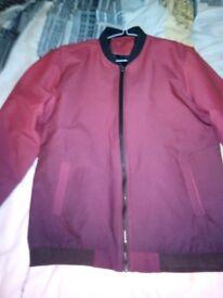 Stylish Men's Red and Black Jacket