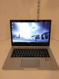 HP EliteBook x360 1030 G2 with 3 years warranty