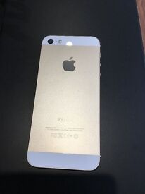 IPhone 5S in Gold.