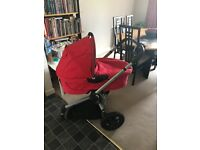 Quinny Buggy with Carry Cot and Child Seat