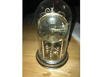 Gold plated model clock