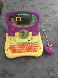 Dora the explorer my 1st laptop