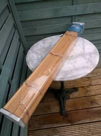 """Hardwood venetian blind 90(35"""")x 152cm(90"""")"""