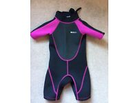 Mountain Warehouse Wet Suit. Age 3-4