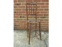 Edwardian child's high chair