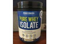 Precision pure whey isolate vanilla flavour 500g - prefect for gaining lean muscle