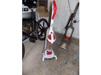 Goblin GVU301W Upright Bagless Vacuum Cleaner 700w Power