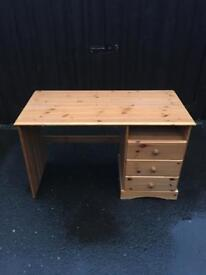Pine Desk ( Can Deliver )