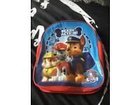 Paw patrol kids rucksack