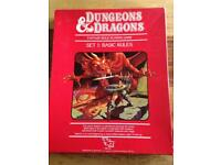 Dungeons and Dragons Original Board game