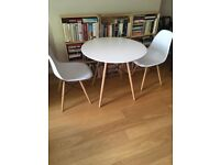 Chic Table and Chairs set