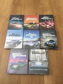 Fast and furious steelbook collection 1-8