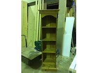 Pine storage unit second hand ideal for upcycling