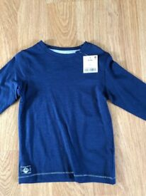 Brand New with tag, Next Blue Long Sleeve T-Shirt Age 3 Years