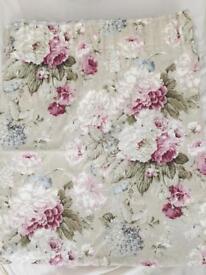 Cottage floral curtains