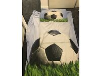 Next Football Duvet Cover, Curtains and Accesories