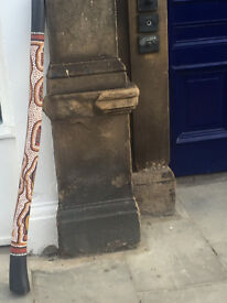 A didgeridoo, music equipment . In good condition. L 130 cm In good condition and quality.
