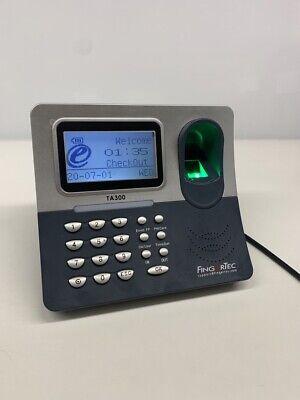 Fingertec Ta300 Portable Desktop Fingerprint Time Clock And Attendance Terminal