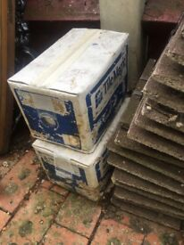 2 boxes of white tiles free