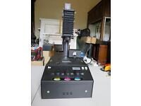 beseler dual mode slide duplicator with contrast control with either light source