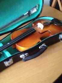 Violin 3/4 size in case