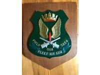 Vintage FLEET AIR ARM metal plaque