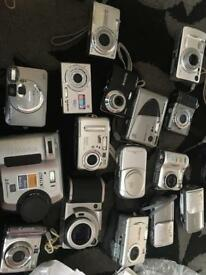 Job lot untested cameras 16 in total