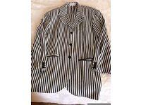 Expensive Beautiful Italian designer Piero Panchetti blazer/Jacket -as new never worn