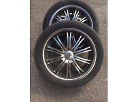 """20"""" Alloy Wheels ~ 6x114 ~ 4x4 wheels"""