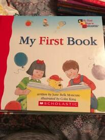 My 1st steps to reading books