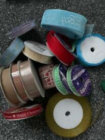 Bundle of mixed ribbon