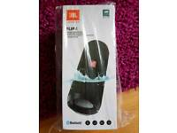 JBL Flip 4 portable speaker, water resistant - brand new unopened