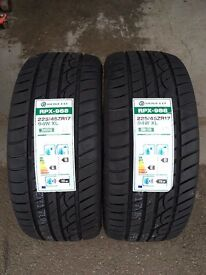 2x 225/45/17 2254517 225 45 17 225.45.17 ROVELO 94W XL Tyres £55 Each Or 2 FOR £105