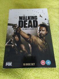 Walking Dead Seasons 1-4 DVD - £10.50