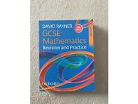 GCSE maths textbook.