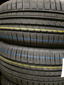 4  summer tires 225/40r18, 215/40r18,215/45r18 new