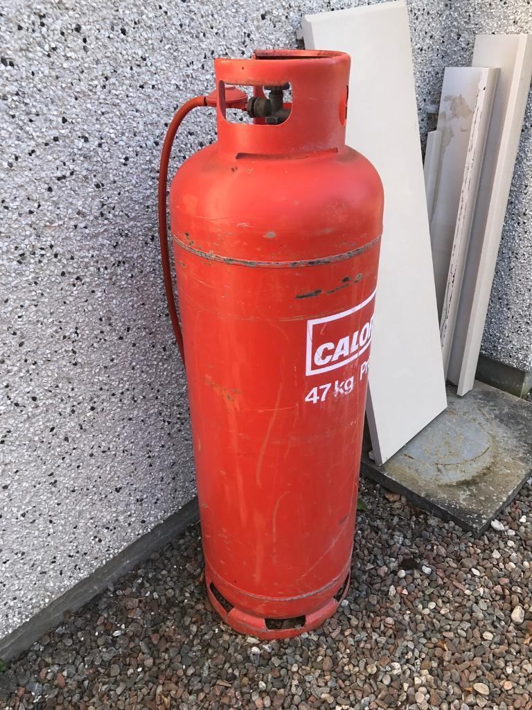 Propane gas cylinderin Inverness, HighlandGumtree - 47kg propane cylinder. Not full but a good amount still in it. Collect only