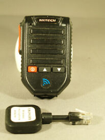 QYT Hands Free Bluetooth Speaker Microphone for QYT Mobile Radios.