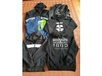 Mens /teens branded jkts/hoodies/t-shirts bundle